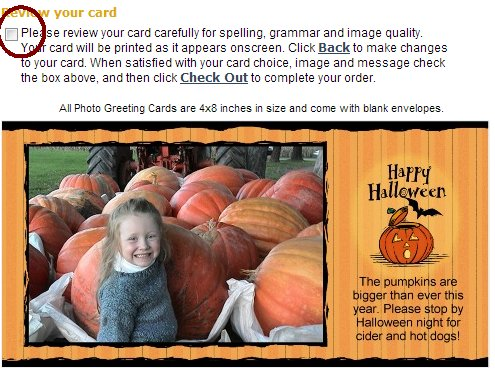 Halloween 4x8 Custom Card
