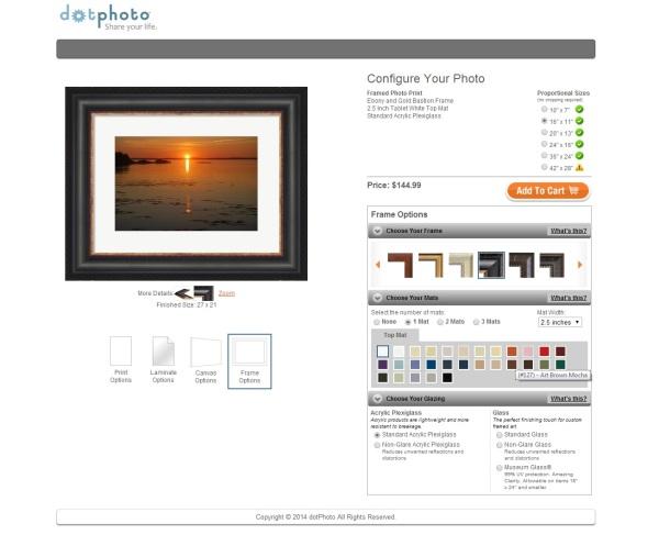 frameshop screen 2