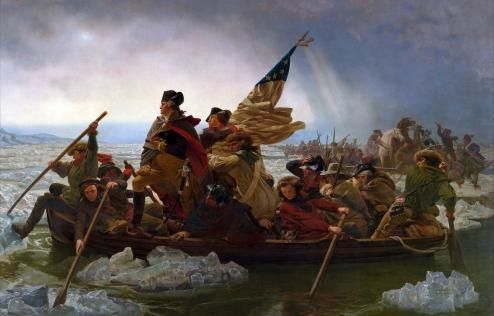 Washington Crossing the Delaware - Emanuel Leutze - 1851 - Metropolitan Museum of Art, NYC